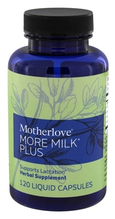 Motherlove - More Milk Plus - 120 Vegetarian Capsules