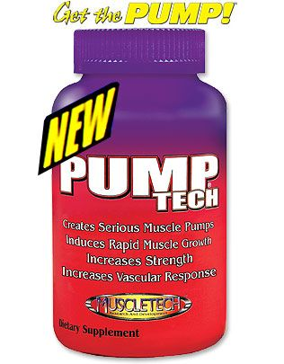 DROPPED: Muscletech Products - Pump-Tech - 200 Capsules