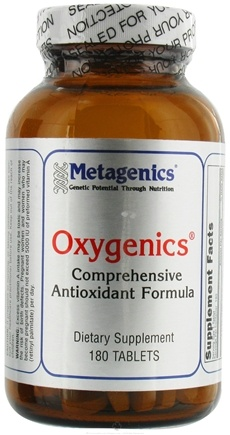 DROPPED: Metagenics - Oxygenics - 180 Tablets