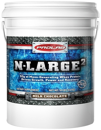 DROPPED: Prolab Nutrition - N Large II Chocolate - 10 lbs.