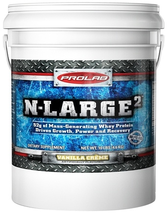 DROPPED: Prolab Nutrition - N Large II Vanilla - 10 lbs. CLEARANCE PRICED