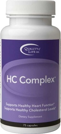 DROPPED: Quality Of Life Labs - HC Complex - 75 Capsules CLEARANCE PRICED