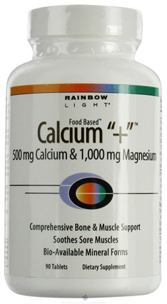 DROPPED: Rainbow Light - Calcium Plus - 90 Tablets