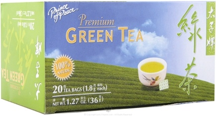 DROPPED: Prince of Peace - Premium Green Tea - 20 Tea Bags