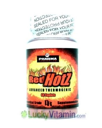 DROPPED: Pharma Resources - Red Hotz - 60 Caplets
