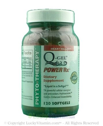 DROPPED: Phyto Therapy - Co Q-10 Q-Gel - 120 Softgels CLEARANCE PRICED