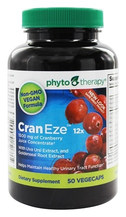 Phyto Therapy - CranEze 12x Cranberry Juice Concentrate - 50 Softgels