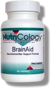 DROPPED: Nutricology - BrainAid - 60 Tablets CLEARANCE PRICED