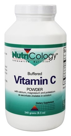 Nutricology - Buffered Vitamin C Powder Corn Source - 240 Grams