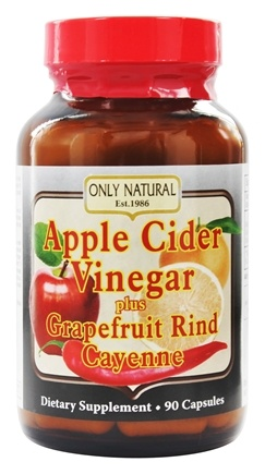 Only Natural - Apple Cider Vinegar Plus 700 mg. - 90 Capsules