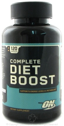 DROPPED: Optimum Nutrition - Complete Diet Boost - 120 Capsules