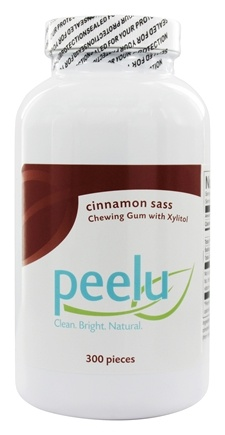 Peelu - Chewing Gum with Xylitol Cinnamon Sass - 300 Piece(s)