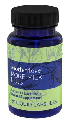 Motherlove - More Milk Plus - 60 Vegetarian Capsules