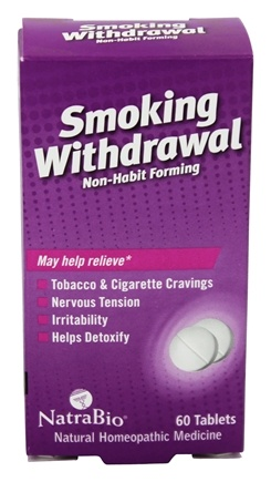 NatraBio - Smoking Withdrawal - 60 Tablets