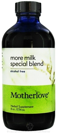 DROPPED: Motherlove - More Milk Special Blend Alcohol Free - 8 oz.