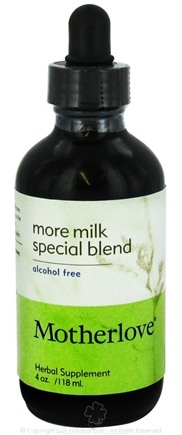 DROPPED: Motherlove - More Milk Special Blend Alcohol Free - 4 oz. CLEARANCE PRICED