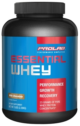 DROPPED: Prolab Nutrition - Essential Whey Powder Milk Chocolate - 5 lbs. formerly Pure Whey CLEARANCE PRICED