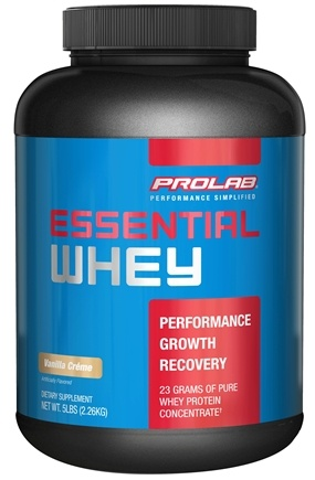 DROPPED: Prolab Nutrition - Essential Whey Powder Vanilla Creme - 5 lbs. formerly Pure Whey