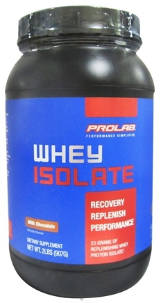 DROPPED: Prolab Nutrition - Whey Protein Isolate Powder Milk Chocolate - 2 lbs. CLEARANCE PRICED