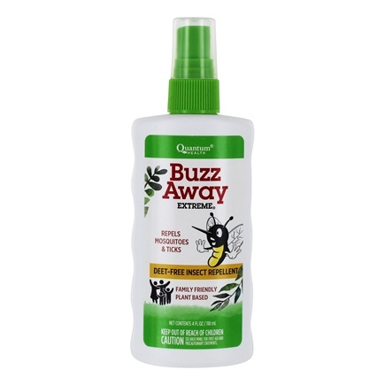 Quantum Health - Buzz Away Extreme Deet-Free - 4 oz.