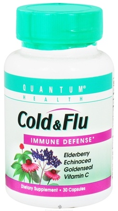 DROPPED: Quantum Health - Cold & Flu Immune Defense - 30 Capsules