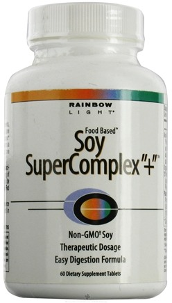 DROPPED: Rainbow Light - Soy Supercomplex + - 60 Tablets