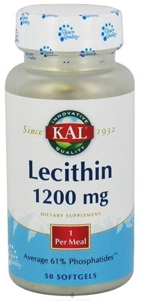 DROPPED: Kal - Lecithin 1200 mg. - 50 Softgels