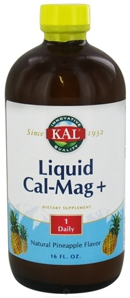 DROPPED: Kal - Liquid Cal-Mag + Pineapple - 16 oz. CLEARANCE PRICED