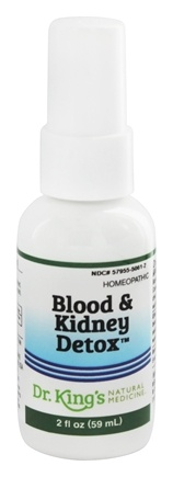 King Bio - Homeopathic Natural Medicine Blood & Kidney Detox - 2 oz.