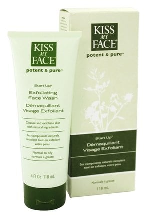 Kiss My Face - Potent & Pure Start Up Exfoliating Face Wash - 4 oz.