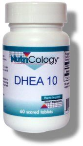 DROPPED: Nutricology - DHEA 10 mg. - 60 Tablets