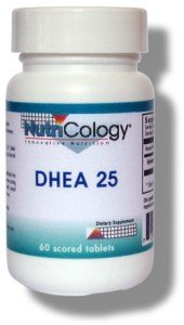 DROPPED: Nutricology - DHEA 25 mg. - 60 Tablets