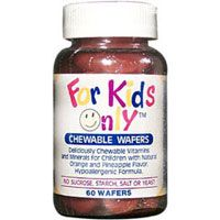 DROPPED: Only Natural - For Kids Only Vitamin Formula - 60 Wafers