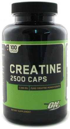 DROPPED: Optimum Nutrition - Creatine 2500 Caps 2500 mg. - 100 Capsules