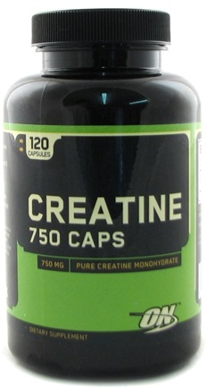 DROPPED: Optimum Nutrition - Creatine 750 Caps - 120 Capsules