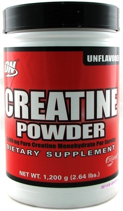DROPPED: Optimum Nutrition - Micronized Creatine Powder Creapure Unflavored - 1200 Grams