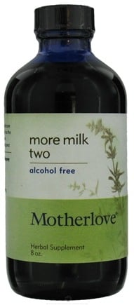 DROPPED: Motherlove - More Milk Two Alcohol Free - 8 oz.