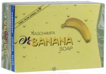 DROPPED: Nag Champa - Banana Soap - 75 Grams