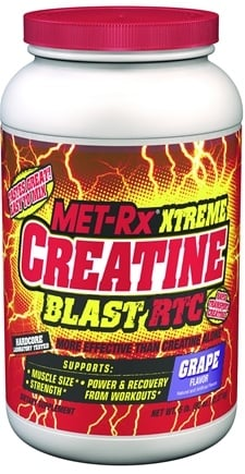 DROPPED: MET-Rx - Xtreme Creatine Blast RTC Grape - 5 lbs. CLEARANCE PRICED
