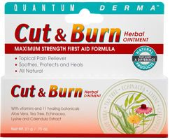 DROPPED: Quantum Health - Derma Cut & Burn Ointment - 21 Grams CLEARANCE PRICED