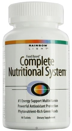 DROPPED: Rainbow Light - Complete Nutritional System - 90 Tablets
