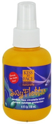 DROPPED: Kiss My Face - Swy Flotter Citronella Lotion Tick & Insect Repellent - 4 oz. CLEARANCE PRICED