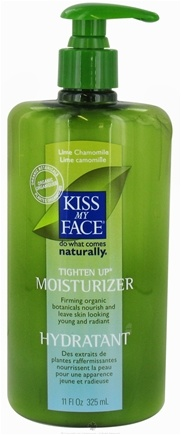 DROPPED: Kiss My Face - Tighten Up Moisturizer Lime Chamomile - 11 oz. CLEARANCE PRICED