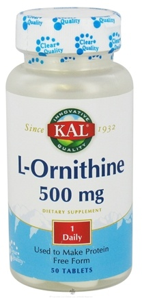 DROPPED: Kal - L-Ornithine - 50 Tablets