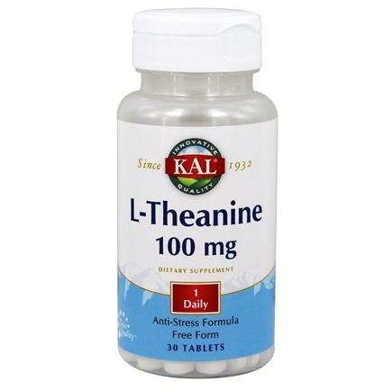 Kal - L-Theanine 100 mg. - 30 Tablets