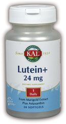 DROPPED: Kal - Lutein+ 24 mg. - 30 Softgels