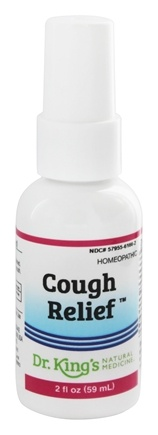King Bio - Homeopathic Natural Medicine Cough Relief - 2 oz.