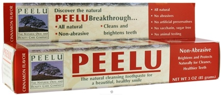 DROPPED: Peelu - Toothpaste Cinnamon Flavor - 3 oz.