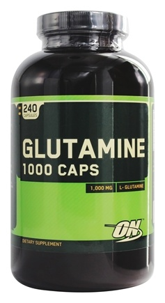 Optimum Nutrition - Glutamine 1000 Caps - 240 Capsules