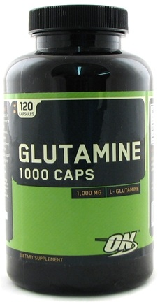 DROPPED: Optimum Nutrition - Glutamine 1000 Caps - 120 Capsules CLEARANCED PRICED